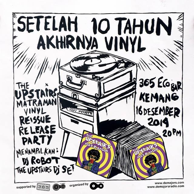 The Upstairs Matraman - Release Party