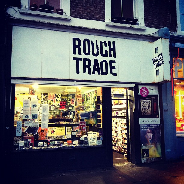08 - Records Store Rough Trade