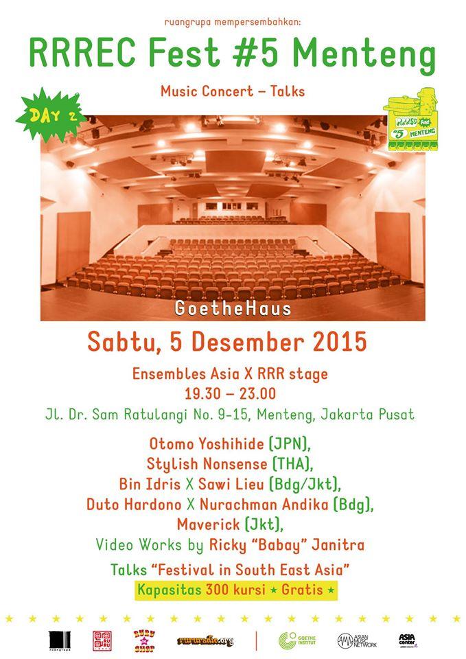 Sabtu, 5 Desember 2015 - Goethe Institute