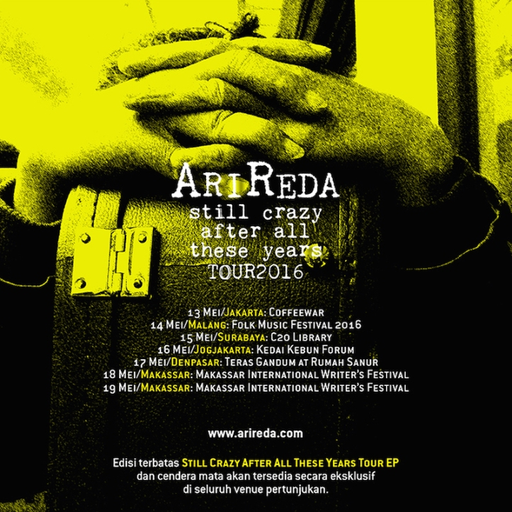 AriReda - Still Crazy After All These Years Tour 2016